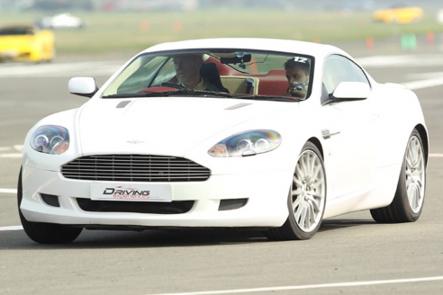 Aston Martin Taster Inc. Atom Hot Lap