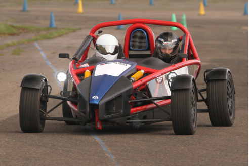 Ariel Atom Driving Experience + Atom High Speed Ride