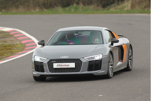 Audi R8 V10 Plus Taster Inc. Atom Hot Lap