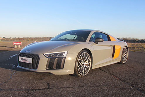 Click to view details and reviews for Audi R8 V10 Plus Taster.