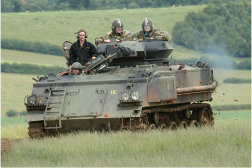 Dads and Lads Tank Driving