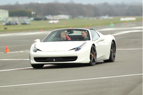 Goodwood Ferrari 458 Hot Lap Experience