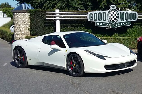 Goodwood Ferrari 458 Experience