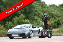 Supercar Drive plus Off Road Segway for Two People