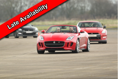 Jaguar F-Type Taster - Date Specific Offer