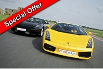 Junior Double Supercar with Passenger Ride