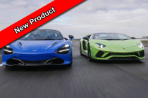 Diamond Supercar Experience 2 cars + FREE High Speed Ride