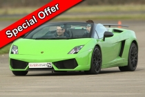 Aldershot Two Car Taster Date Specific Offer Inc. Hot Lap