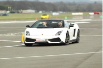 Goodwood Platinum Lamborghini Hot Lap Experience