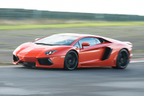 Lamborghini Aventador Driving Experience + Atom High Speed ride