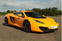 McLaren Three Car Experience with Passenger Ride