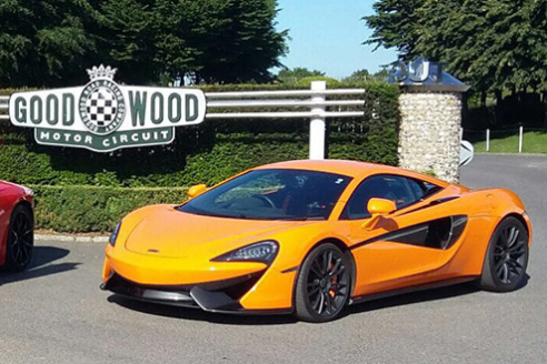 Goodwood McLaren 570s Experience
