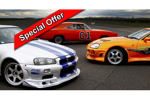 Three Movie Car Taster Prestwold Special Offer