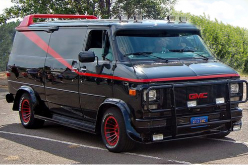 A Team Van - The A Team