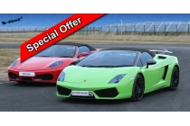 2 Car Hot Laps with FREE Media Package XMas Offer