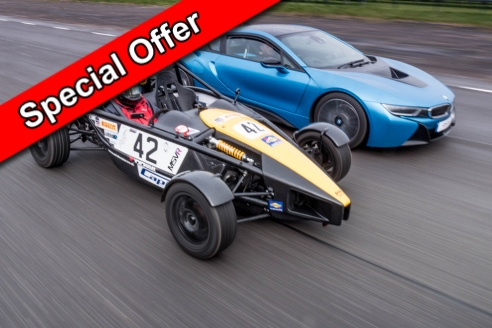 Two Car Taster Date Specific Offer Inc. Hot Lap