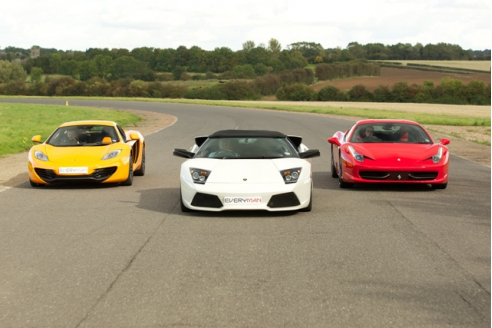 Three Car Platinum Hot Lap