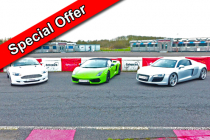 Junior Three Car Taster Special Inc. Hot Lap