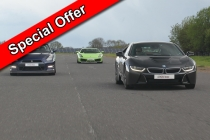 Three Car Taster Date Specific Offer Inc. Hot Lap