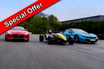 Three Car Taster Special Offer Inc. Hot Lap