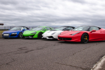 Premium Track Four Car Platinum Taster Special Offer Inc. Hot Lap
