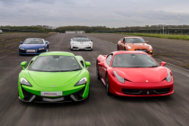 Premium Track Five Car Platinum Taster Special Offer Inc. Hot Lap