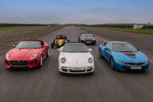 Supercar Experience 5 Cars + FREE High Speed Ride
