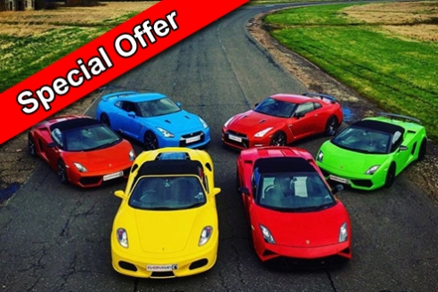 Four Car Taster Special Offer Inc. Hot Lap