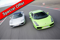 Junior Two Car Taster Special Inc. Hot Lap