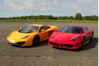 Two Car Platinum Taster Special Offer Inc. Hot Lap