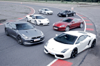 Supercar Experience 6 cars + FREE High Speed Ride