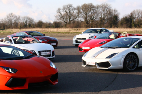 Eight Car Taster Special Offer Inc. Hot Lap