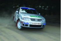 Rally Driving in Oxfordshire
