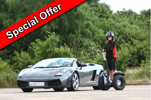 Two Car Taster and Off Road Segway Special