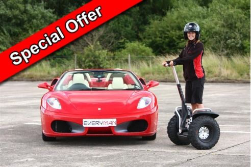 One Car Taster and Off Road Segway Special