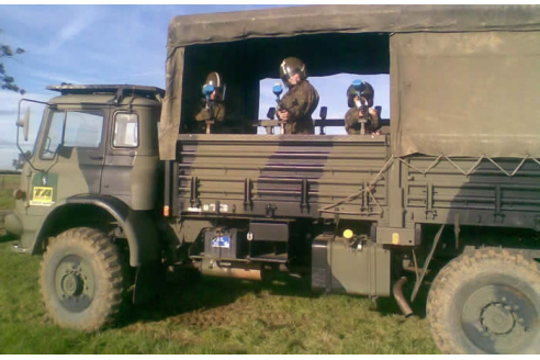 Children's Military Vehicle Party