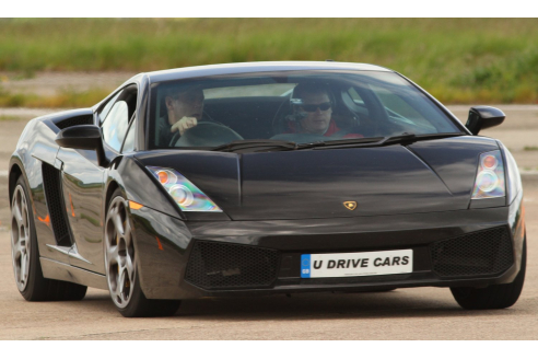 Ultimate Supercar Blast Inc. Hot Lap - Heyford Park